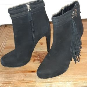 Sam Edelman fringed booties